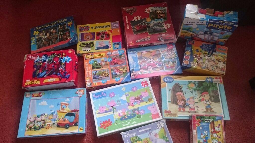 Puzzles £1 each