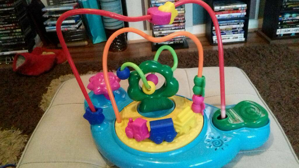 Childs Musical Activity train & Beads.