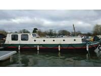 Dutch barge Widebeam Liveaboard 57ft