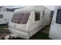 4 BERTH BAILEY RANGER FIX VED WITH END BEDROOM FULL AWNING AND WE CAN DELIVER