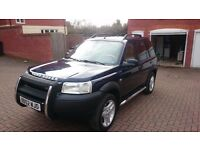 LHD Land rover freelander 2.5 V6 automatic -low mileage 62k
