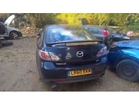 breaking a nice five door mazda 6 2009 plate diesel with all of the parts available
