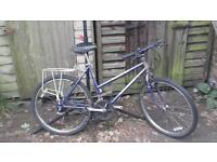 Ladies mountain bike in good working order.