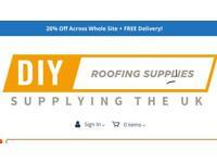 Fibreglass/EPDM Flat Roofing Supplies