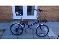 2 x Folding Bikes (20 inch wheels)