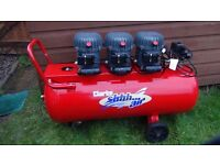 Clarke Silent Air Compressor SHHH /100 Ltr/ excellent condition