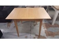 New John Lewis Alba 2-4 Seater Extending Dining Table Oak, Can Deliver View Collect Kirkby NG177
