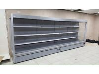 12ft 4M Low Fronted Capital Cooling Display Fridge Chiller Dairy Meat Drinks