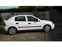 2003 vauxhall astra sxi 1.6 16v 11month mot very low mileage fsh 1 off car