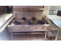 Wok Cooker 5 Burner £300