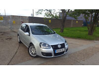 AUTOMATIC GOLF GT TD . DSG TURBO DIESEL. FACELIFT.FULL SERVICE HISTORY.FULL HEATED LEATHERS. BARGAIN