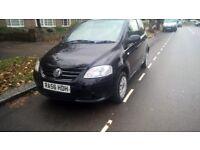 VW FOX 1.2CC 2007,BLACK 88K MILES