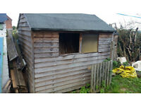 Garden shed 8ft x 6ft in good conditions - Buyer dismantels