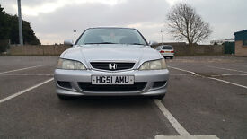 Honda Accord 1.8 i VTEC Sport 5dr welcome 2001 (51 reg), Hatchback £995 p/x