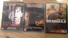 joblot of diehard films