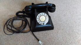 Bakelite phone 1930's