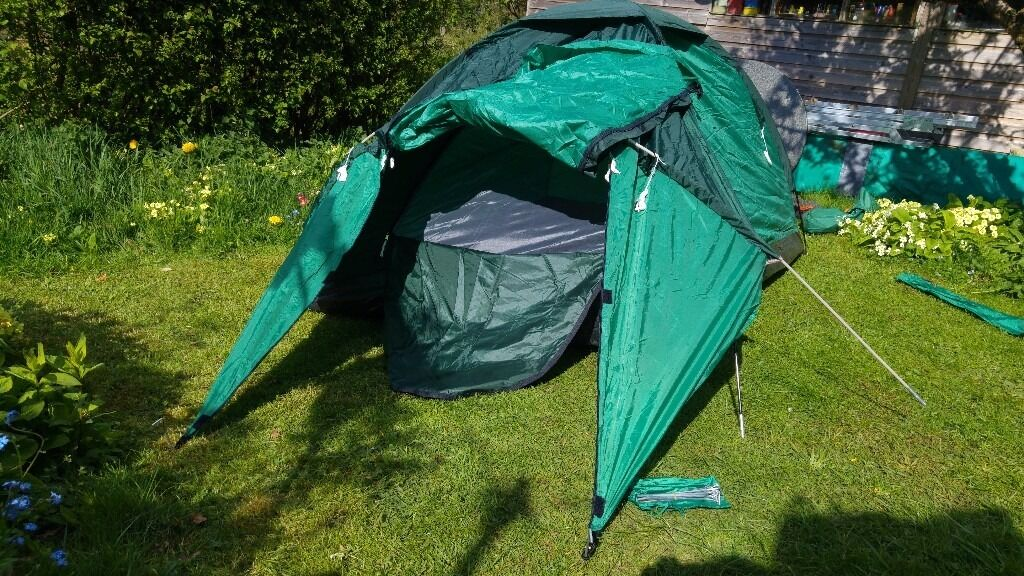 2 -3 Man Proaction festival/summer tent - Spares or repair - just needs ring and peg stitching in