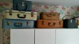 Old style suit case