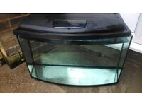 2 1\2 ft x1 ft bow front tank
