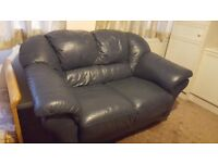 Blue sofa in good condition