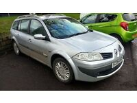 renault megane estate 1.6 petrol manual 2006 06 plate