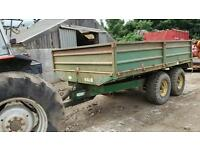 Tractor trailer for sale 9t silage sides and door