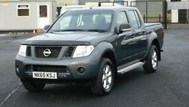 2015 NISSAN NAVARA DCI. IMMACULATE PICK UP WITH ONLY 13000 MILES BY 1 OWNER. LOTS OF EXTRAS. NO VAT.