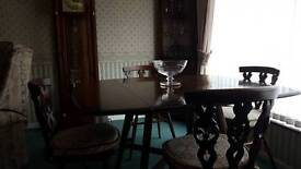 Ercol Space Saver Dining Table & Chairs