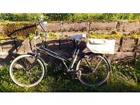 Vintage Bicycle Vindec Vogue Green Small Ladies Bike
