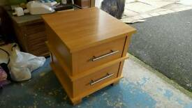 Next bedside table drawers wooden