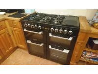 Dual fuel cooker, Leisure Cuisinemaster
