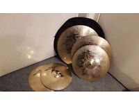 Zultan Rock Beat Profi Cymbal Set - Collection Only.