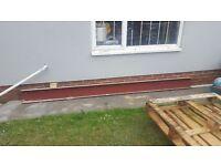 Rsj steel beam. Unused