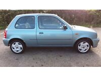 02 Nissan Micra 1.0 Vibe. 39000 miles.