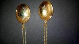 Large gold filled lockets 9crt