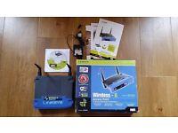 Linksys Wireless-G Access Point Range Extender 802.11g in original box