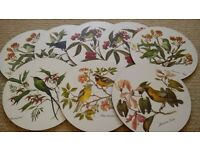 Vintage Bird Placemats x 8 from YEOVIL