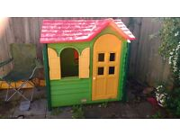 Little tikes playhouse practically brand new little boy doesn't play with it anymore