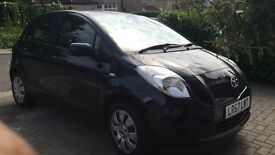 Toyota Yaris BLACK Manual LOW MILEAGE given no problems so far