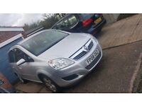 Vauxhall zafira 2008 1.6l , Spares and Repairs but working conditions on the road