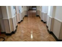Wood floor sanding £10 per sq m! Dust free professional service Buckinghamshire. No hidden charges.