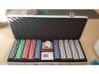 Large poker set