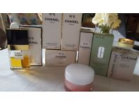 Chanel no 5 and other beauty creams