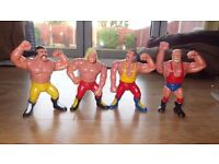 WWF Hasbro Simba Wrestling Champs Figures - a must have for the complete collection!