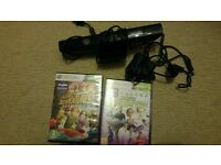 Kinect for Xbox 360 + 2 games