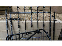 ####HEAVY GALVANISED STEEL GATE #####NOW SOLD SOLD SOLD SOLD