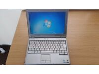 Dell XPS M1210 1.66GHz laptop - Windows 7 Ultimate - Very good condition - With charger - Working