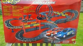 Electric car racing track (like scalextric)