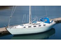RIVAL 36 MAGNIFICENT SOLID SAILING CRUISER BEAUTIFUL CONDITION £49750