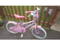 girls bike 5-7 years